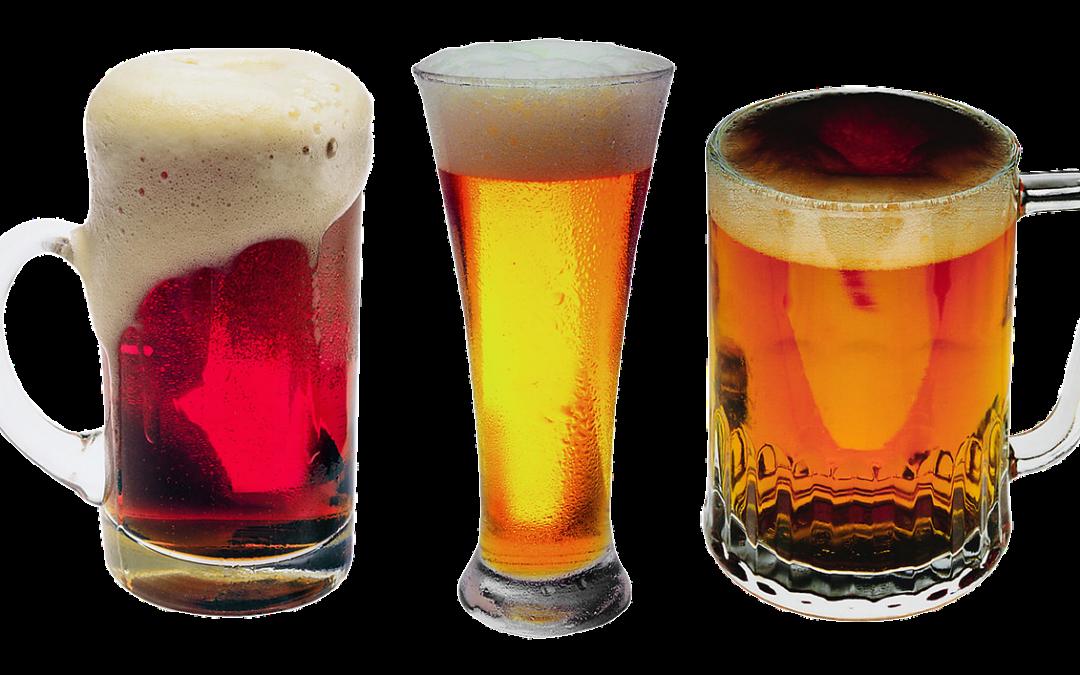 L'abus de bière fait prendre du poids.