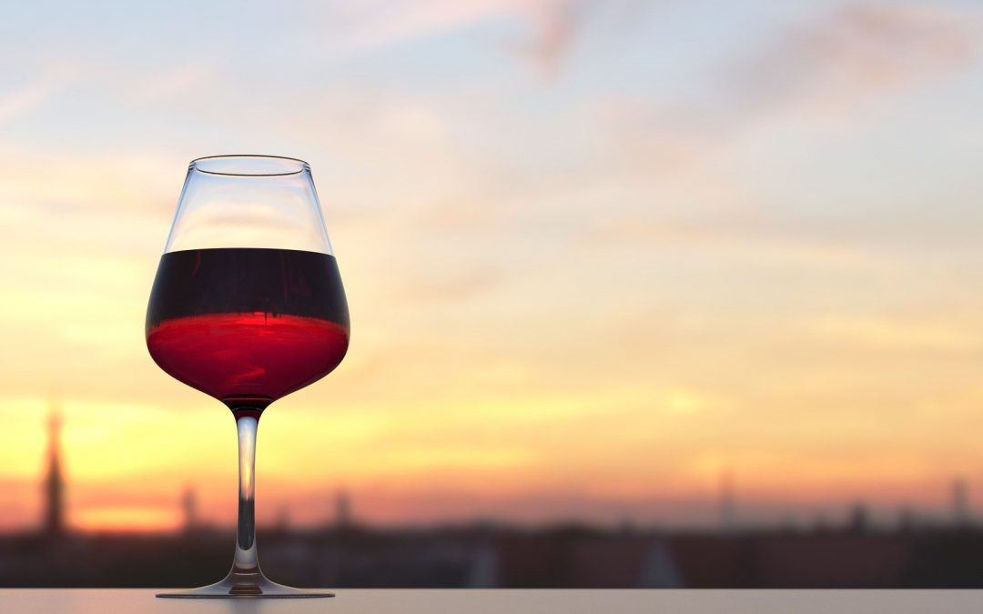 Un bon vin pour un dîner d'anniversaire.